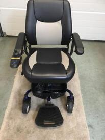 Blue Deluxe power chair
