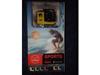 BRAND NEW FULL HD 1080P WATERPROOF ACTION CAMERA WITH BOX