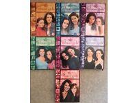 Gilmore Girls DVD set, series 1 to 7