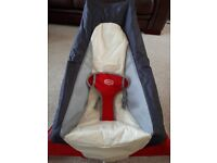 Portable tiny love baby bouncer - immaculate condition