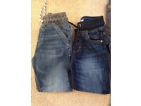 Boys jeans x7 pairs Age 3 & 4 Next & Gap
