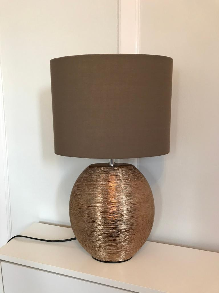 Next table lamp bronze scratch lamp vgc in south croydon london next table lamp bronze scratch lamp vgc aloadofball Image collections