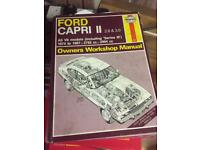Ford Capri MK2 Haynes Manual