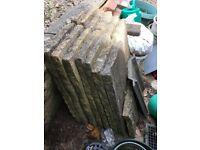 Garden Paving: sandstone