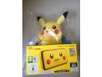 New Pikachu 2ds with Pickachu My Friend