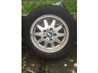 Bmw Wheels with tyres X 4