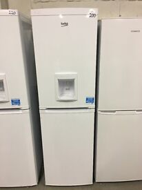BEKO CXFD825W Fridge Freezer - White