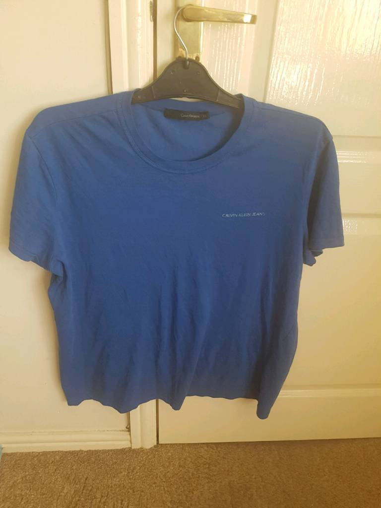 Mens Calvin Klein blue t shirt size XXLin Coulby Newham, North YorkshireGumtree - Buyer to collect from Coulby Newham Middlesbrough