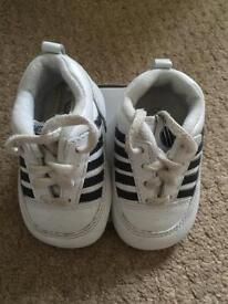 K Swiss baby trainers size 2 3-6 months