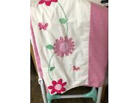Used, *FREE* Girls curtains with tie backs for sale  Ely, Cardiff