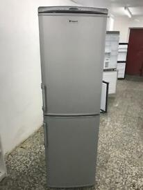 Hotpoint fridge freezer Full Working very nice 4 month warranty free delivery 📦
