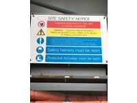 ##### SITE SAFETY SIGNS ####