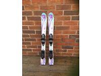 Junior Girls Head Skis 87cm Used