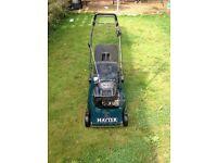 Hayter selfdrive lawnmower