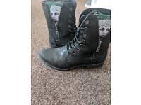 Suicide Squad Joker Combat boots