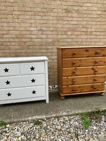 CHEST OF DRAWERS. 2 AVAILABLE SEPERATELY. £49 EACH