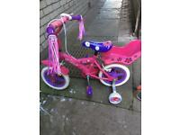 Girls bike and Micro scooter