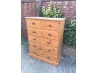 Corndell Furniture large well built chest of drawers, bargain free delivery