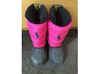 Ralph Lauren girls winter boots
