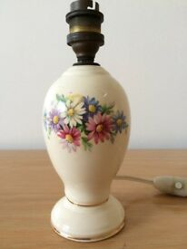 Small porcelain lamp