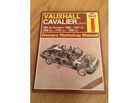 Petrol Vauxhall cavalier manual
