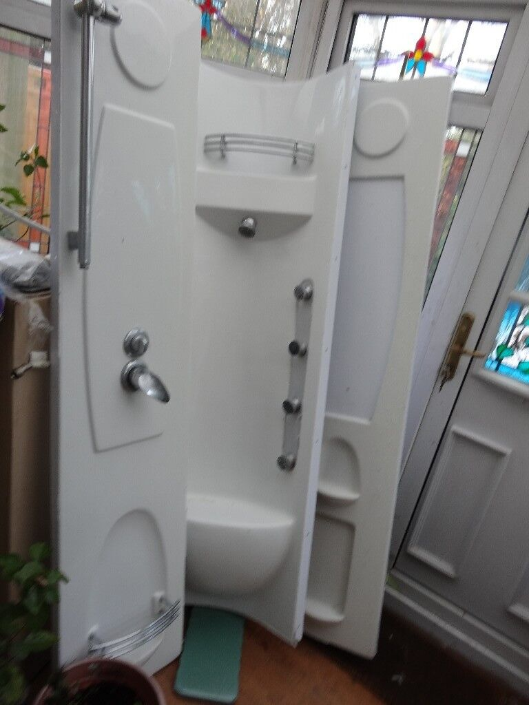 Freestanding Shower Cabin Enclosure or Shower Cubicle. Complete With ...