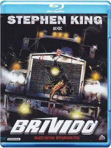 Maximum Overdrive (1986) Stephen King IMPORT Blu-Ray NEW - USA Compatible