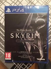 Skyrim special edition PS4 Game