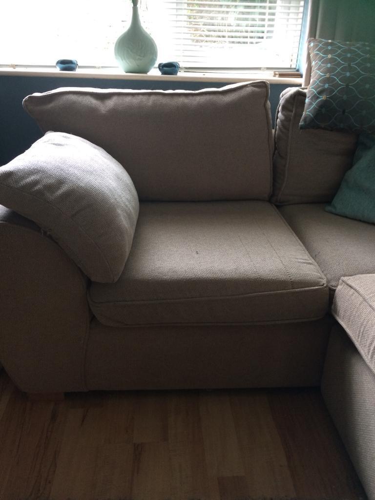 Corner sofa / 2x2 seater   in Gloucester, Gloucestershire   Gumtree