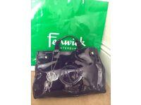Armani Jeans purple tote handbag
