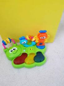 caterpillar Musical toy