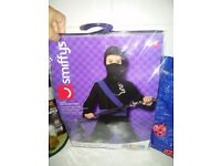 Ninja outfit age 7-9 brand new in package