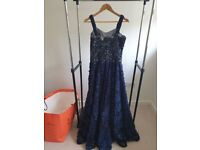 Wedding indian blue gown