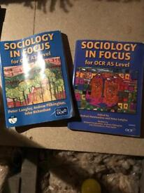 Sociology AS and A2 books
