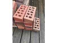 Red bricks; mix of new and used x31 total