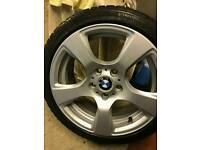 """BMW 17""""alloy with tyre"""