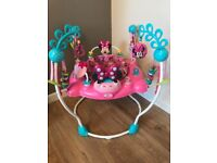 Disney Minnie Mouse baby Bright Stars Jumperoo