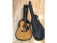 12 String Yamaha Guitar (FG-411CE) with hard case