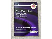 New AS-Level Physics: AQA Year 1 & AS Complete Revision & Practice with Online Edition RRP £11