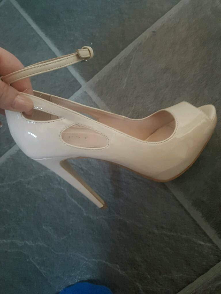 Nude patent Lipsy heelsin Whitehead, County AntrimGumtree - Size 5Worn once.Can post or deliver