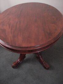 OVAL VICTORIAN MAHOGANY TABLE