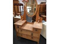 LOVELY VINTAGE SOLID WOOD DRESSING TABLE