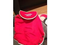 Red small/Puppy padded coat