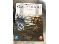 Game of thrones seasons 1-7 boxset