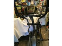 Horizon Elliptical Cross Trainer - Andes 208 Model. Club quality performance for home workouts.