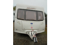 2005 Bailey Senator Vermont 2 Berth Touring Caravan With Motor Mover Fitted