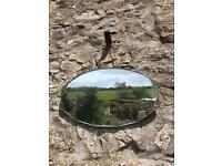 1950s bevelled-edged mirror