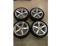19 inch Vauxhall Insignia AVA Miami alloy wheels and tyres