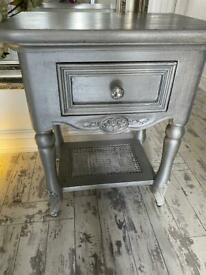 Wood drawer unit