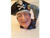 Royal Doulton Toby Jug Long John Silver